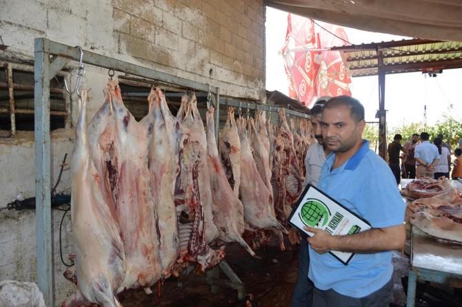 Umut Kervanı Siirt'te kurban eti dağıtımına başladı