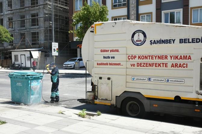 Gaziantep'te kurban kesim yerleri temizlendi