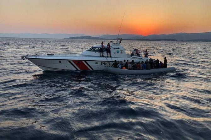Selçuk'da 179 düzensiz göçmen yakalandı