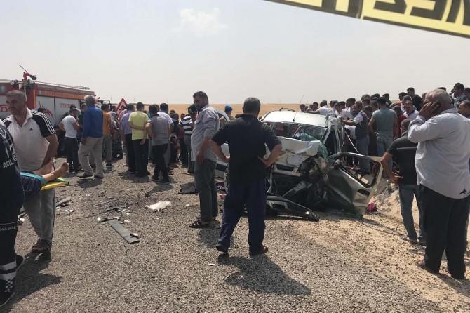 Li Diyarbekirê qezaya trafîkê: 2 mirî 8 birîndar