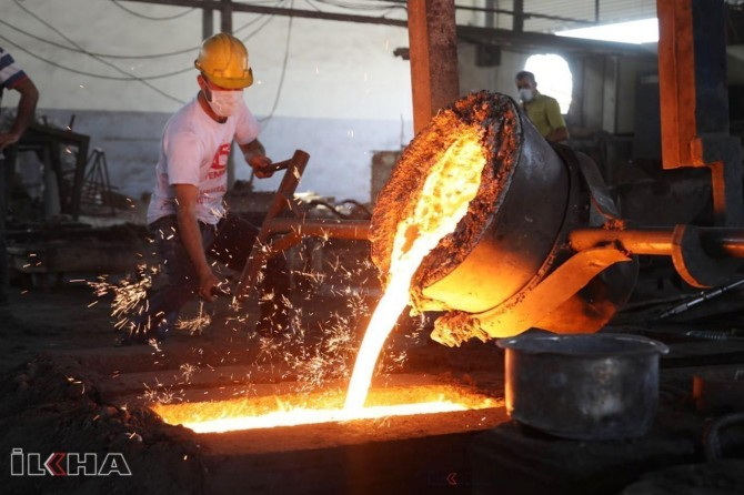 Industrial production decreased in Turkey compared to last year