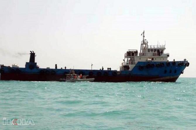 İran gemisine yakalama kararı