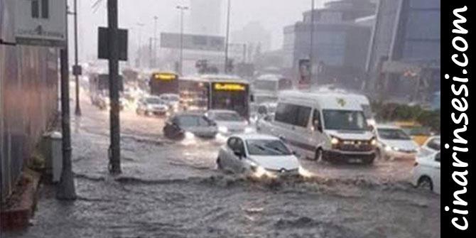 İstanbul'da sağanak sele neden oldu: 1 ölü