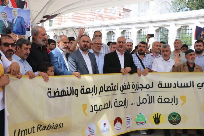 Rabia Katliamı 6. yıl dönümünde anıldı