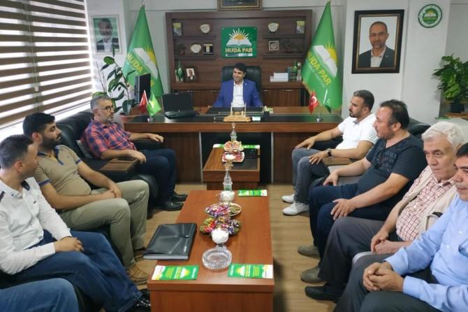 HÜDA PAR Gaziantep İl Başkanlığına taziye ziyaretleri sürüyor