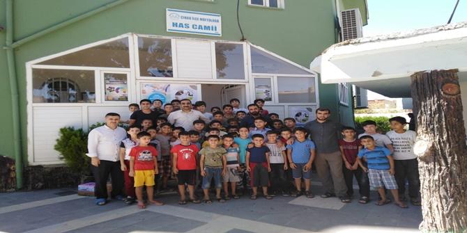 Çınar Eğitim Bir-Sen cami öğrencilerini ziyaret etti