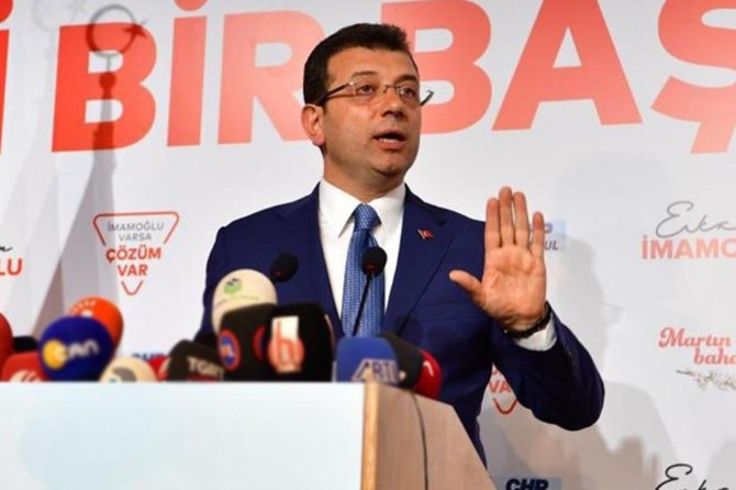 Kendisini eleştiren İstanbullulara boş konuşuyorlar diyen İmamoğlu'na tepki
