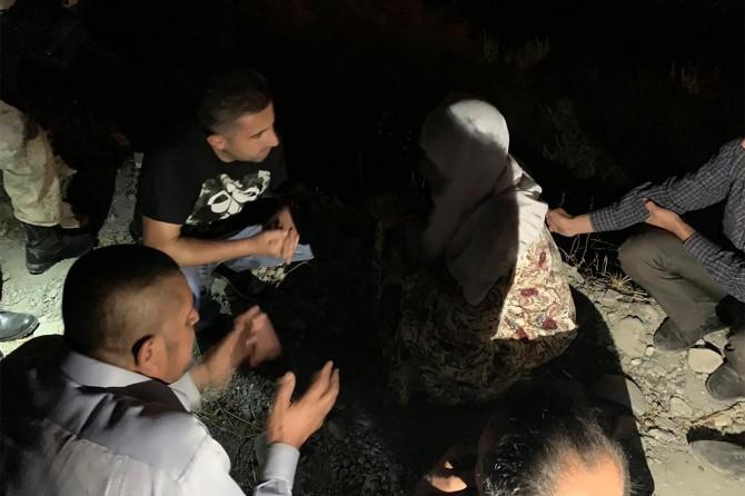 Dargeçit'te Dicle Nehri'nde akıntıya kapılan genç kayboldu