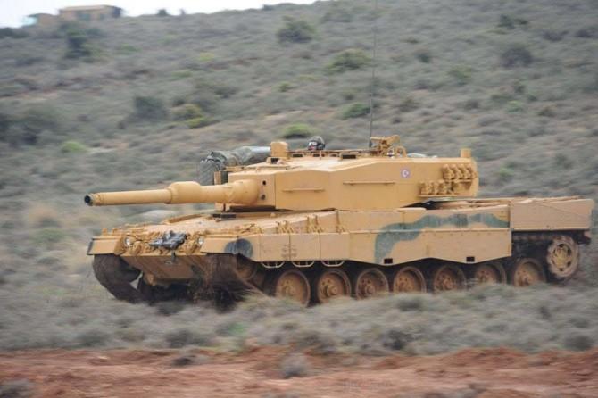 Tel Rıfat'taki PKK hedefleri vuruldu