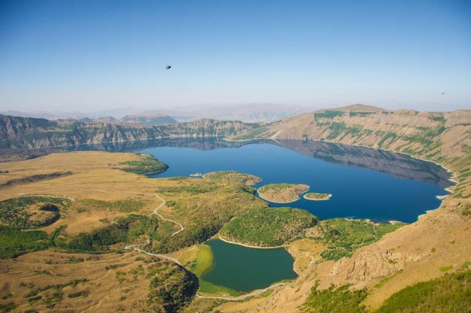 Nimrud Crater Lake: A natural wonder