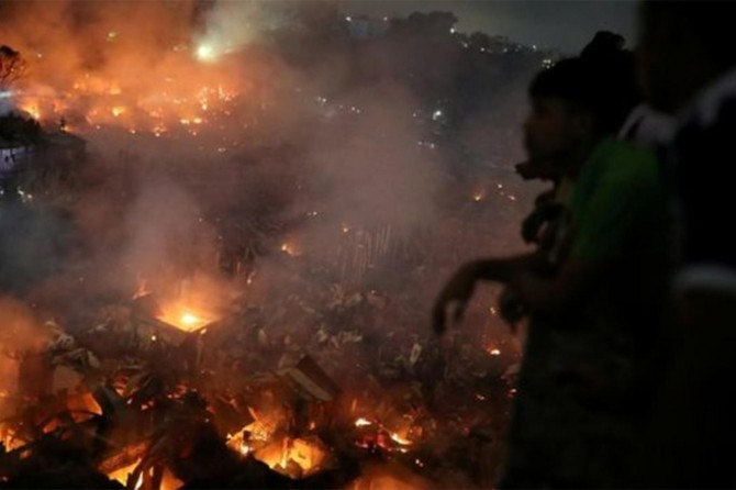 Fire left 50 thousand people homeless in Dhaka