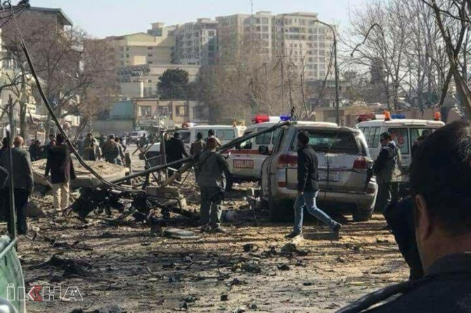 Dozens dead and injured in Afghanistan blast