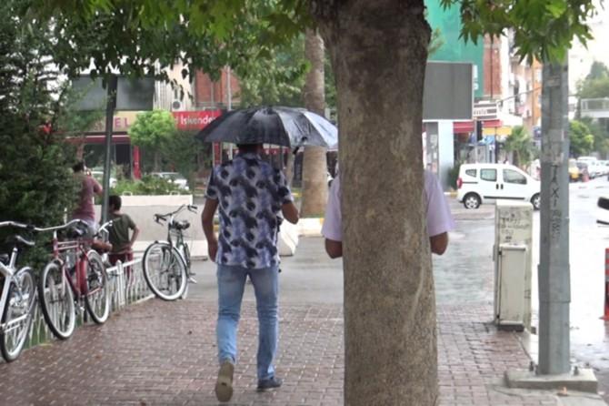 Adıyaman'da yağmur havayı serinletti