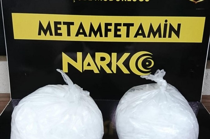 Bitlis'te 2 kilo uyuşturucu madde ele geçirildi