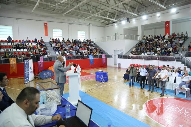 Gaziantep'te bin 252 konut hak sahiplerini buldu