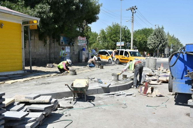 Sento Caddesi baştan sona yenileniyor