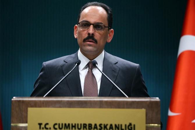 Cumhurbaşkanlığı Sözcüsü Kalın, Kabine Toplantısı sonrası açıklamalarda bulundu