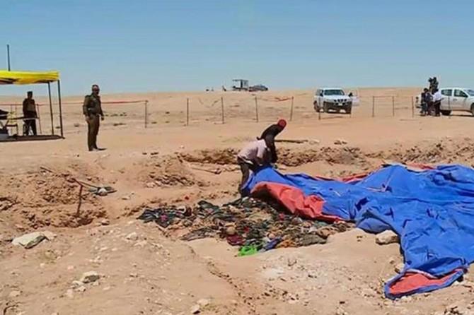 Enfal Katliamı kurbanlarına ait 2 toplu mezar bulundu