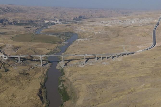 Türkiye'nin 4. büyük köprüsü son aşamada