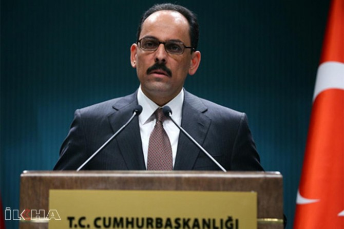 Presidential spokesman Kalın holds press statement after cabinet meeting