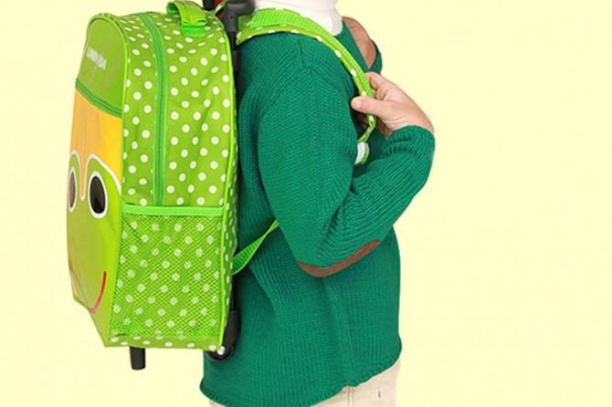 Okul çantası boya uygun olmalı