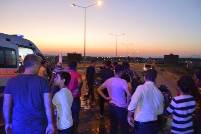 Siirt'te pat pat kazası: 1'i bebek 10 yaralı