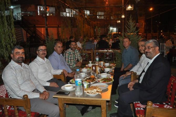 Kaymakam Mehmet Yüzer Kızıltepe'ye veda etti