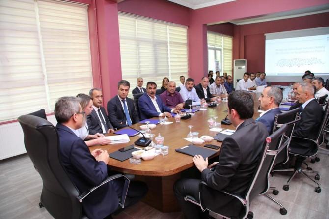 Bingöl'de Mekânsal Adres Kayıt Sistemi bilgilendirme toplantısı yapıldı