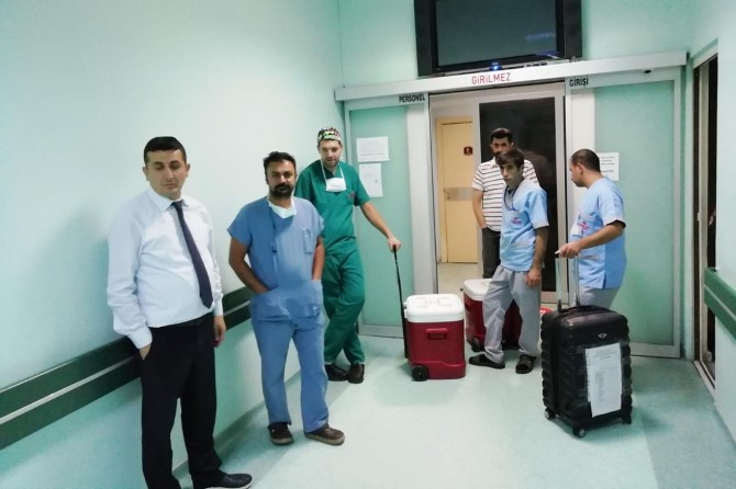 Mardin'de küçük çocuğun organları 4 hastaya umut oldu