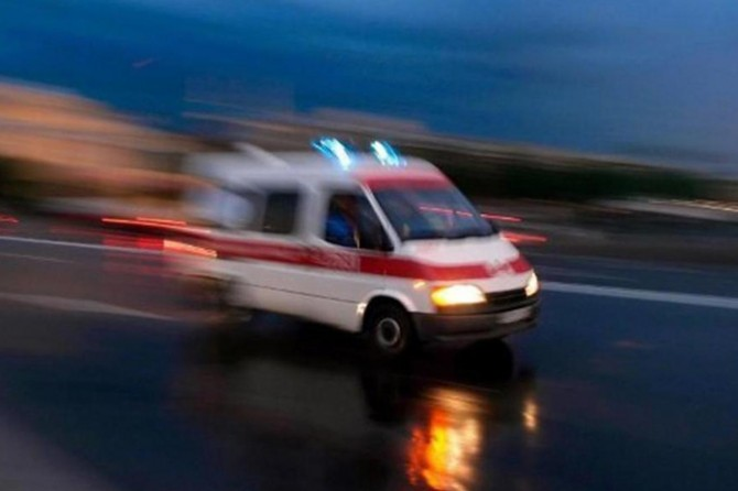 Dicle'de zırhlı araç kaza yaptı