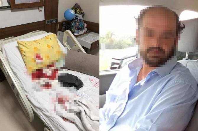 Yeni doğum yapan kadın 6 aydır ayrı yaşadığı eşi tarafından bıçaklandı