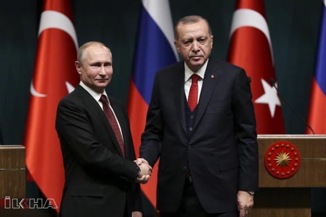 President Erdoğan, Putin discuss Syria and Libya