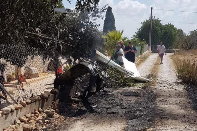 İspanya'da uçak ile helikopter havada çarpıştı: 7 ölü