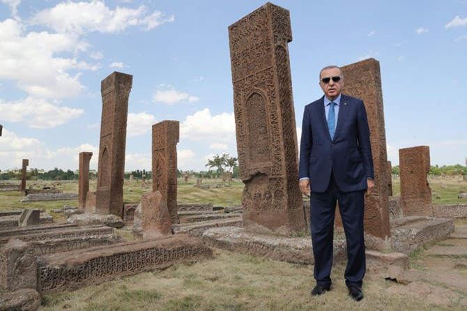 Cumhurbaşkanı Erdoğan: Tarih bir milletin hafızası istikbalinin de pusulasıdır