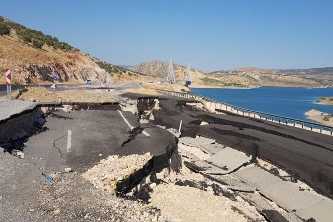 Nissibi yolu deprem görmüş gibi!