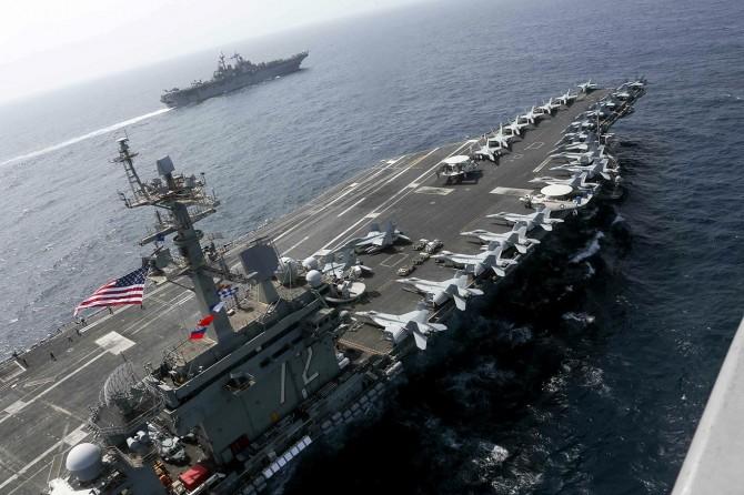 Çin limanına demirlenmek istenen ABD savaş gemisi geri çevrildi