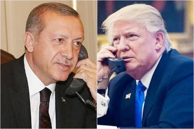 Cumhurbaşkanı Erdoğan Trump ile telefonla görüştü