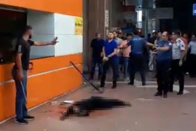 Batman Otogarındaki cinayete ilişkin polise soruşturma