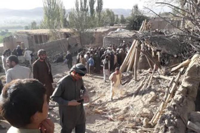 ABD Afganistan'da sivilleri hedef aldı: 12 ölü