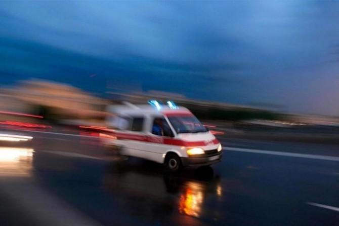 Aynı güzergâhtaki iki otomobil çarpıştı: 5 yaralı