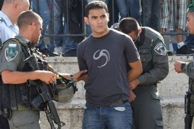 İşgalciler bir ayda 450 Filistinliyi alıkoydu