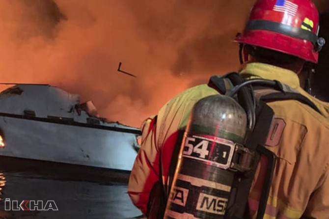 Dive boat fire in the US: 25 dead