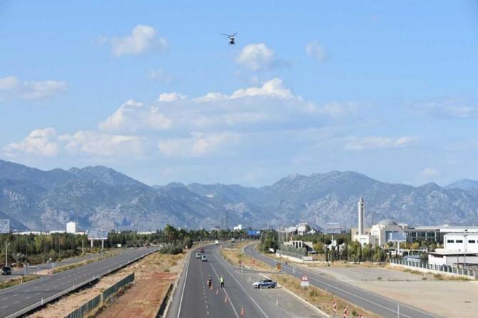 Havadan yapılan denetimlerde 80 bin trafik ihlali tespit edildi