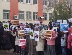 Okullarda Başörtü Yasağı Çermik'te Protesto Edildi