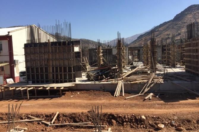 Yeni Sason Devlet Hastanesi inşaatı hızla devam ediyor