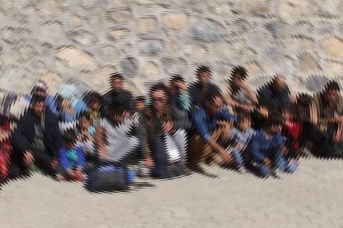 Şanlıurfa'da 20 düzensiz göçmen yakalandı