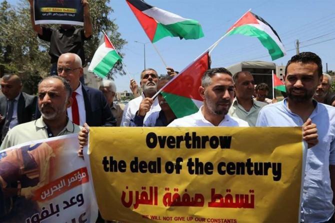 Gazze'de Yüzyılın Anlaşmasına karşı halk kongresi düzenlenecek