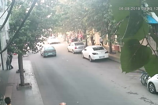 Diyarbakır'da yankesici güvenlik kameralarına yakalandı