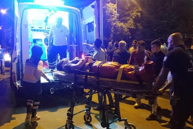 Batman'da otomobil ile motosiklet çarpıştı: 1 ağır yaralı