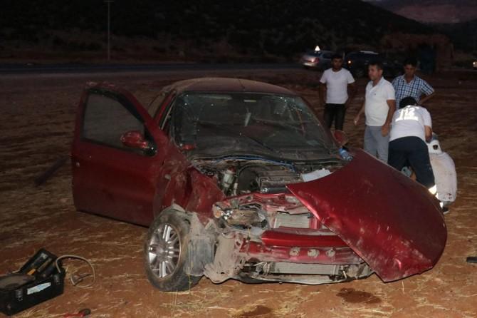 Nurdağı'nda kaza: 4 yaralı